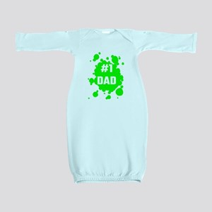 Number One Dad Baby Gown