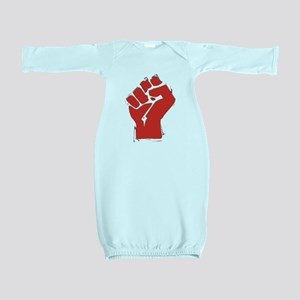 AnarchyFist Cutout Baby Gown