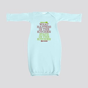 What Happens in the Kitchen Baby Gown