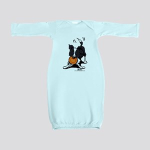 Border Collie Play Baby Gown