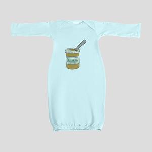 Peanut Butter Jar Baby Gown
