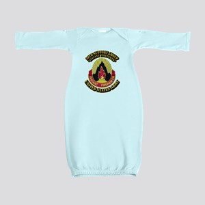 38th Support Group with Text Baby Gown