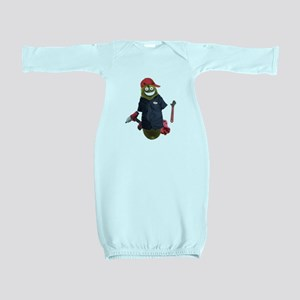 Mechanic Pickle Baby Gown