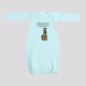 Stoic Airedales Epitome of the Term Baby Gown
