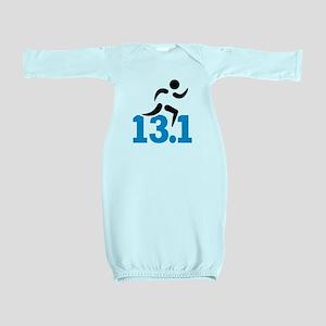 Half marathon 13.1 miles Baby Gown