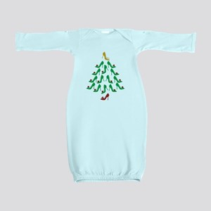 High Heel Shoe Holiday Tree Baby Gown