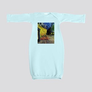 Van Gogh, Cafe Terrace at Night Baby Gown