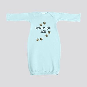 rescue dog mom Baby Gown