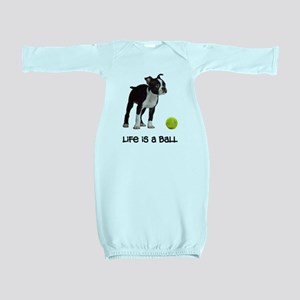 Boston Terrier Life Baby Gown