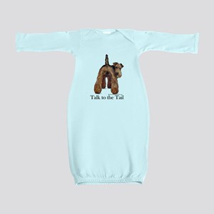 Airedale Terrier Talk Baby Gown