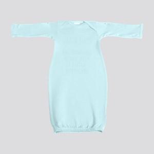 March girls are sunshine mixed with a li Baby Gown