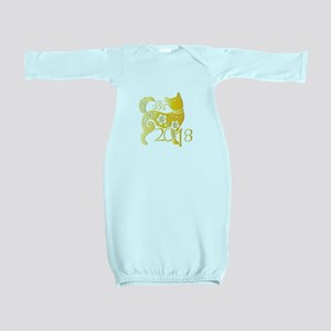 Chinese New Year 2018 - Year Of The Dog Baby Gown