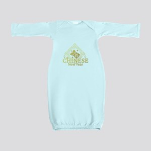 Year Of The Dog 2018 Chinese New Year Baby Gown