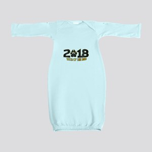 2018 Chinese New Year Baby Gown