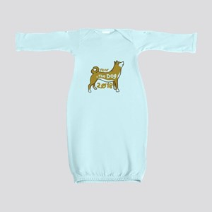 2018 Chinese New Year - Year Of The Dog Baby Gown