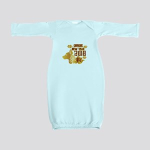 Chinese New Year 2018 Baby Gown