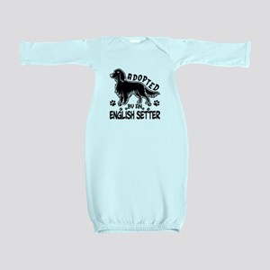 English Setter Baby Gown