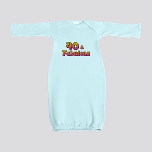 40 and fabulous Baby Gown