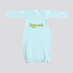 911 Dispatcher Heroes Baby Gown