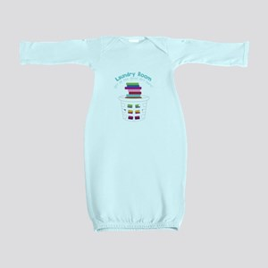 All the Good Dirt Baby Gown