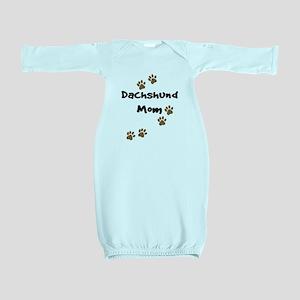 2-dachshund mom Baby Gown