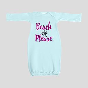 Beach Please Baby Gown