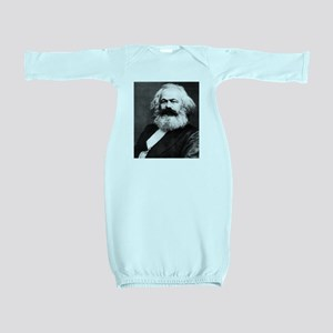 karl marx Baby Gown