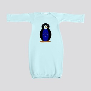 Penguin of the European Union Baby Gown