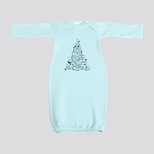 Christmas Tree Baby Gown
