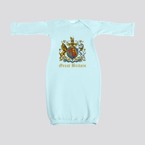 Royal Coat Of Arms Baby Gown