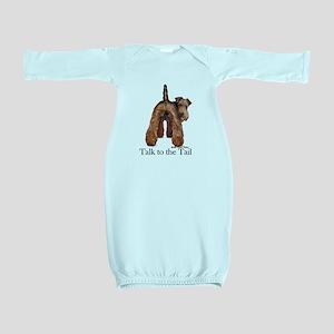 Welsh Terrier Attitude Baby Gown