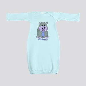 BERT the HIPPO Baby Gown