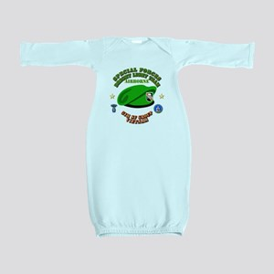 SOF - Bright Light Team Beret Baby Gown