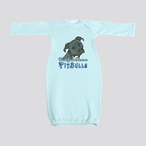 Real Girls Rescue Pitbulls Baby Gown