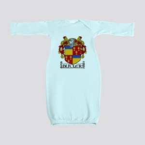 Butler Coat of Arms Baby Gown