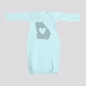 Heart Georgia Baby Gown