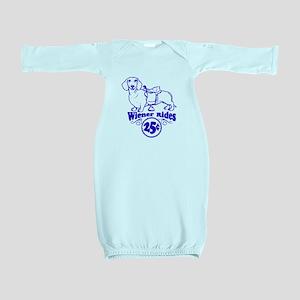 Weiner Rides 25 cents Baby Gown