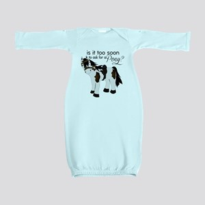 Is it too soon to ask for a Pony Baby Gown