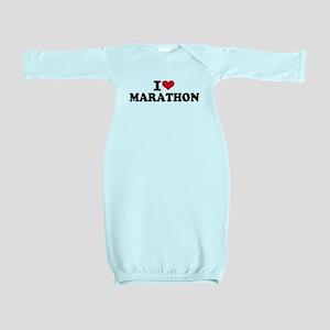 I love Marathon Baby Gown