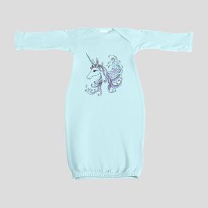 Unicorn Baby Gown