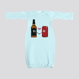 Jack and coke Baby Gown