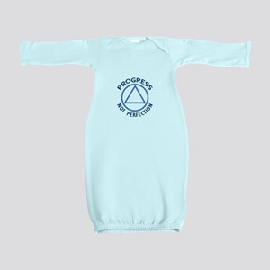 PROGRESS NOT PERFECTION Baby Gown