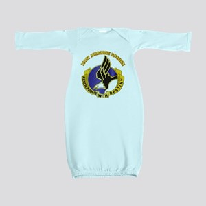DUI - 101st Airborne Division with Text Baby Gown