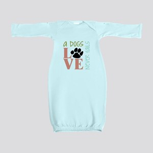 A Dogs Love Baby Gown