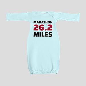 Marathon 26 miles Baby Gown