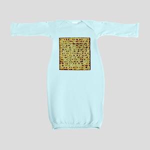 Matza Passover holiday Jewish Traditiona Baby Gown