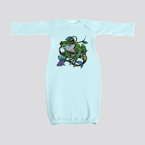 Wild Frog Baby Gown