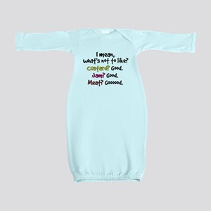 'What's Not To Like?' Baby Gown