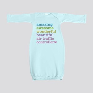 Air Traffic Controller Baby Gown