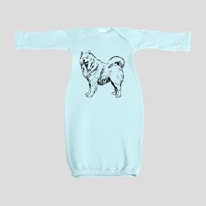 Samoyed Baby Gown